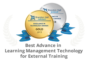 UpsideLMS Awarded by Silver Brandon Hall Excellence in Learning Technology Awards in 2015