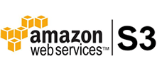 uploads videos directly on the Amazon S3 server or provides the links