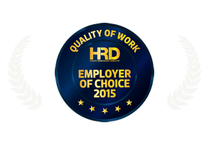 HRD Employer of choice| quality of work | Awards & Recognitions
