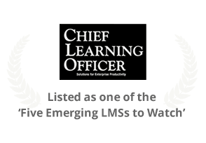 Silver award in Learning In Practice Awards by CLO magazine (UpsideLMS)