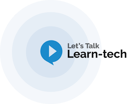Let's talk Learn-tech podcast logo