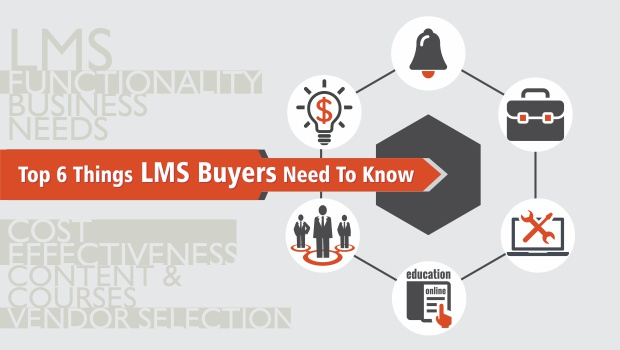 Top 6 Things LMS Buyers Need To Know