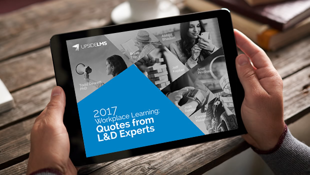 2017 Workplace Learning: Quotes from L&D Experts (Presentation)