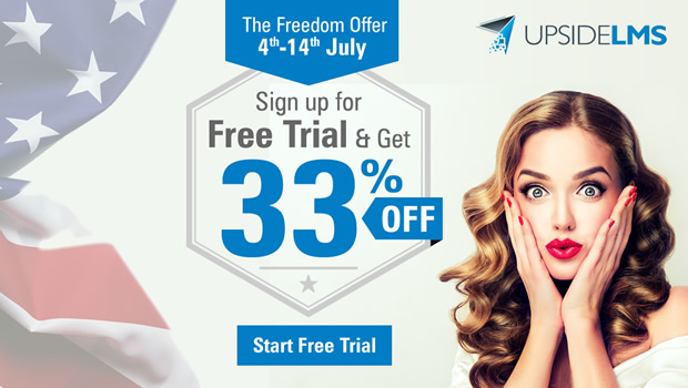 The UpsideLMS 'Free'dom Offer