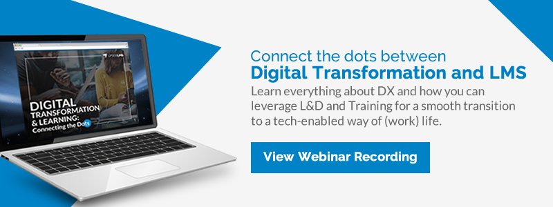 Digital Transformation & Learning: Connecting the Dots | Webinar