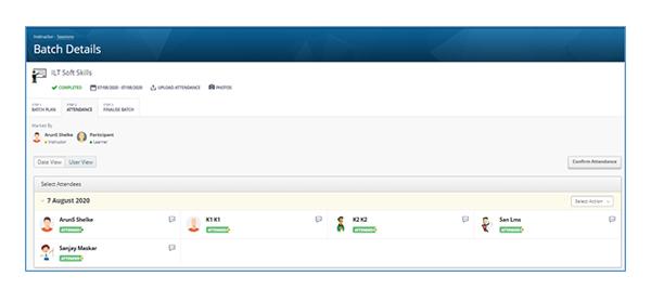 ILT Batch Management Workflow Enhancement
