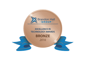Bronze in Best Advance in Learning Management Technology for Small and Medium-Sized Businesses (SMB)
