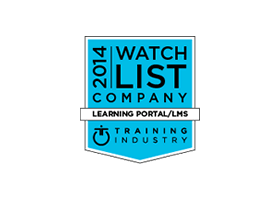 Featured in Training Industry's 2014 Learning Portal Companies Watch List