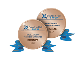 2 Brandon Hall Excellence in Learning Technology Awards: