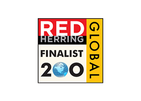 Finalist in Red Herring Global 100 program