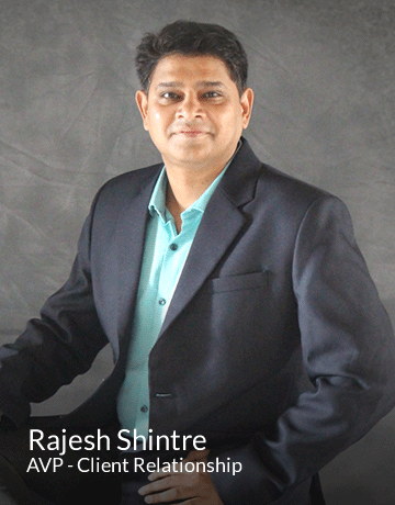 Rajesh Shintre | AVP - Client Relationship