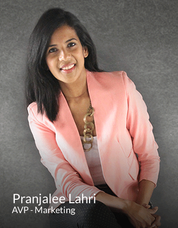 Pranjalee Lahri | AVP - Marketing