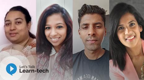 Let's talk Learn-tech Podcast with Mugdha , Nikeeta, Nishad & Pranjalee