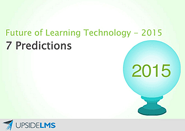 Future of Learning Technology - 2015. 7 Predictions