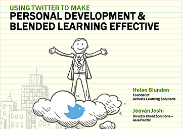 Using Twitter to Make Personal Development and Blended Learning Effective