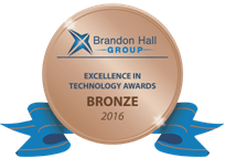 UpsideLMS' clocks in its 12th Brandon Hall award with a Bronze