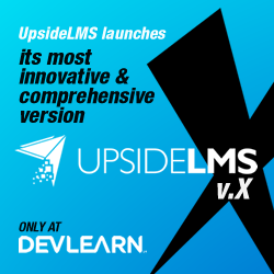 UpsideLMS launches its most innovative version UpsideLMS X