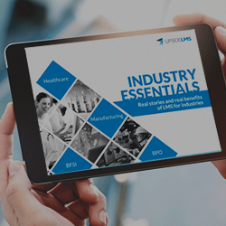 UpsideLMS | Industry Essentials Toolkit | Real benefits of LMS