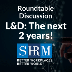UpsideLMS in Association with SHRM Roundtable Conference