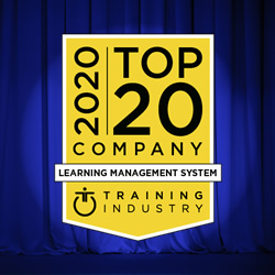 Training Industry recognizes UpsideLMS | Top 20 Learning Management Companies of 2020