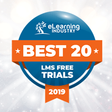 UpsideLMS | eLearning Industry's 'Best LMS Offering Free LMS Trial'