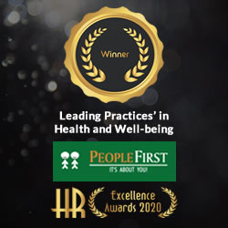UpsideLMS Wins Leading Practices' in Health & Well-Being at the PeopleFirst HR Excellence Awards, 2020
