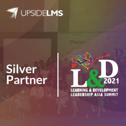 Silver Partner for the L&D Leadership Asia Summit 2021 in Association with Inventicon