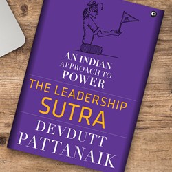 UpsideLMS' survey comes with a Personally Signed Copy of Devdutt Pattanaik's Bestseller