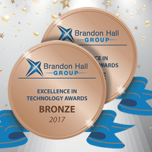 UpsideLMS' twin-win at the 2017 Brandon Hall Awards takes its award tally to 33