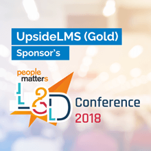 UpsideLMS is a Gold Sponsor of People Matters upcoming 2018 L&D Conference