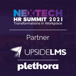 UpsideLMS & Plethora Partner with ETHRWorld for NexTech HR Summit 2021 to Explore Transformations in Workplace