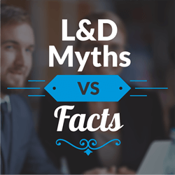 UpsideLMS debunks longstanding L&D Myths in a recently released Infographic