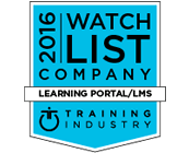 UpsideLMS makes it to the 2016 Learning Portal Companies Watch List; 6th time in a row