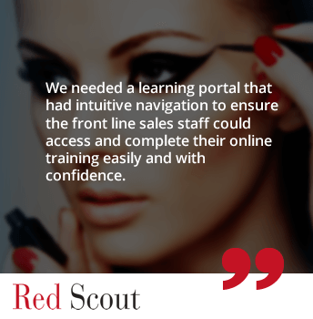 Red Scout's website becomes a one-stop-shop for all its clients with UpsideLMS' APIs