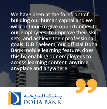 Doha Bank strengthens its commitment to Human Capital Development with UpsideLMS